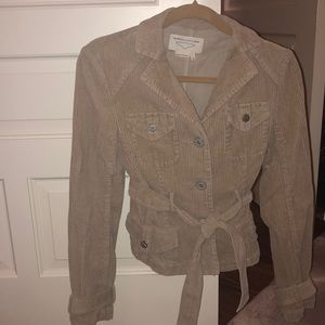 BCBG lightly worn corduroy Jacket XS